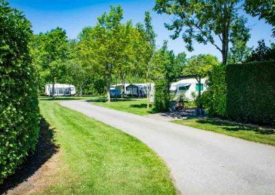 geasfalteerde paden camping de uitwijk